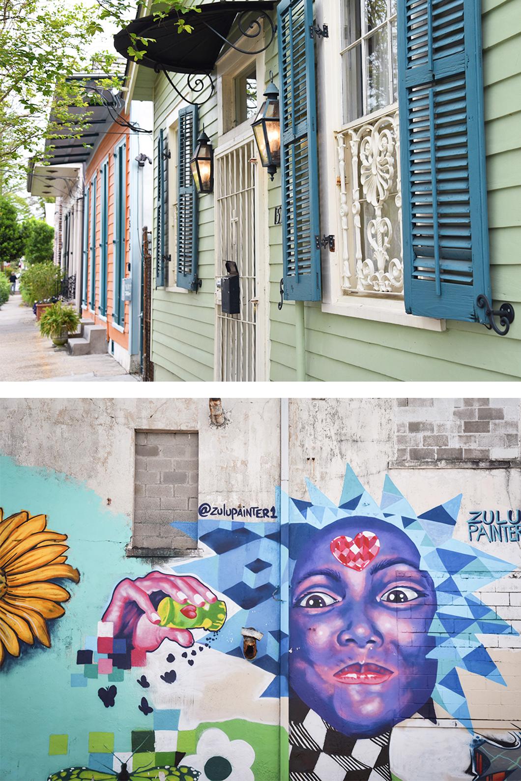 Faubourg Marigny, quartier coloré de la Nouvelle Orléans