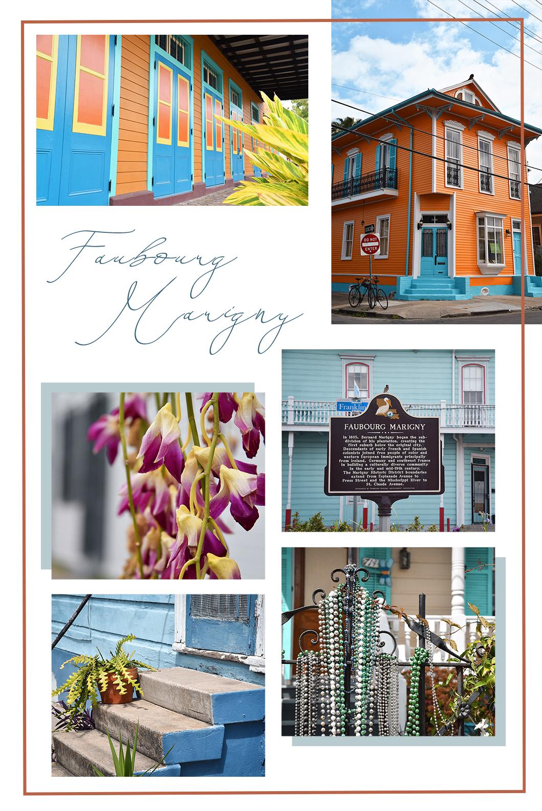 Faubourg Marigny à la Nouvelle Orléans