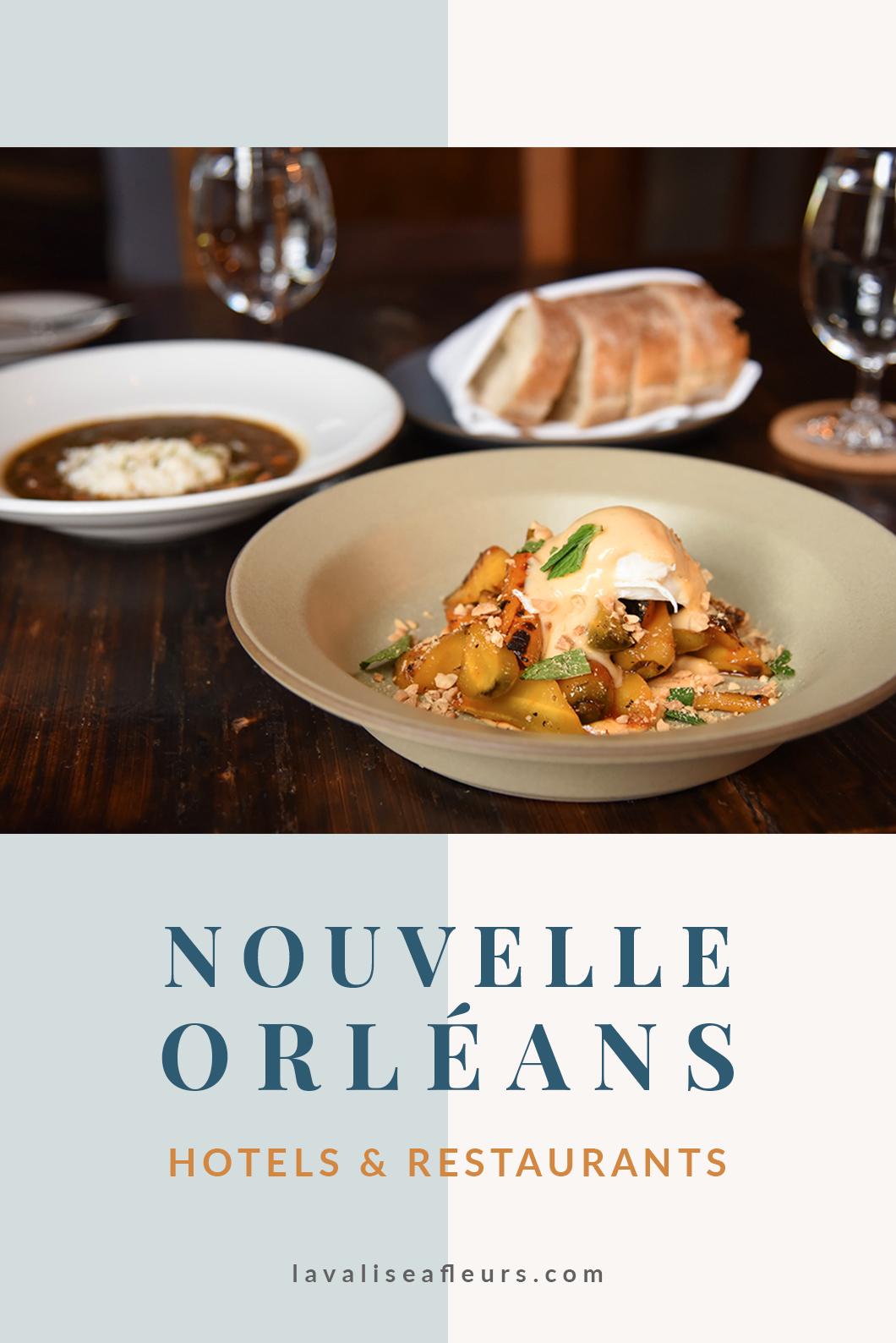 Hotels et restaurants à la Nouvelle Orléans