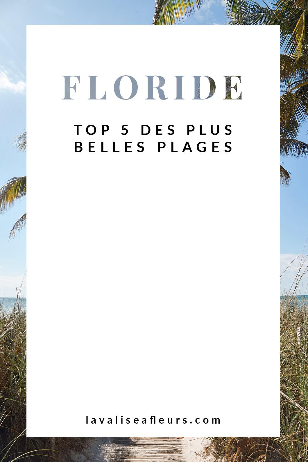 Les plus belles plages de Floride aux USA