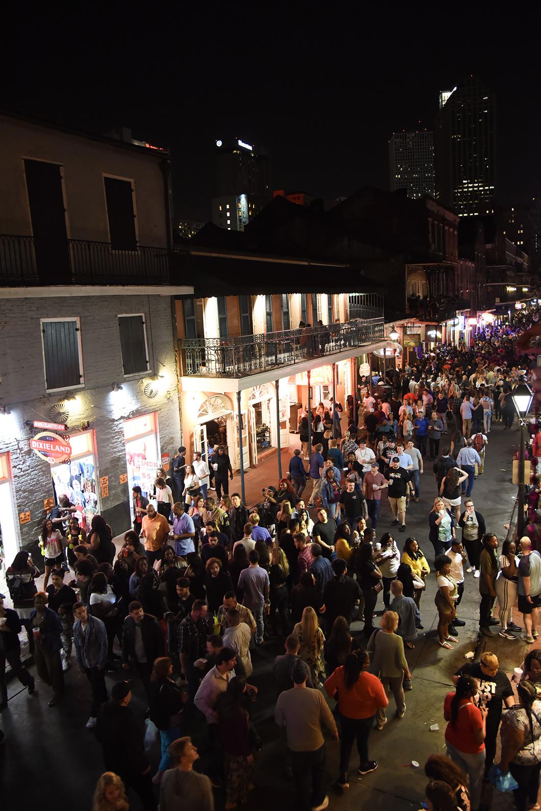 Vie Nocturne à a Nouvelle Orléans