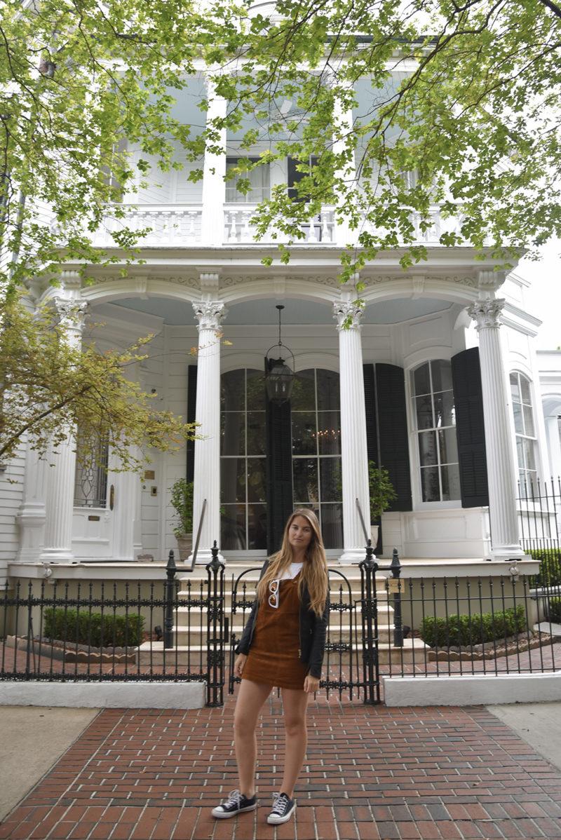 Nouvelle Orléans et les maisons du Faubourg Marigny