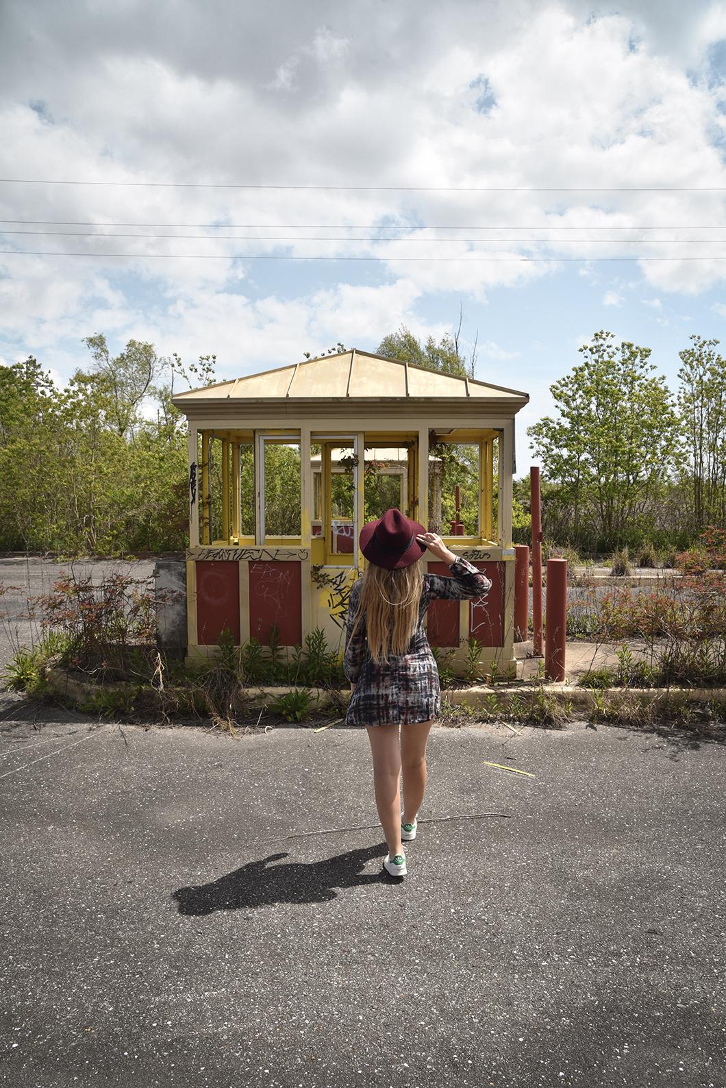 Visiter le parc d'attractions abandonnéSix Flags New Orleans