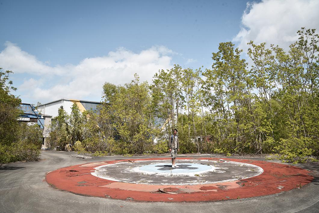Jazzland, le parc d'attration abandonné de la Nouvelle Orléans