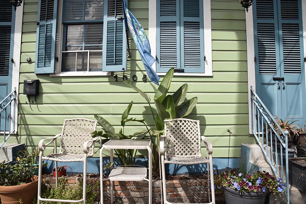 Les jolies maisons du Faubourg Marigny à la Nouvelle Orléans