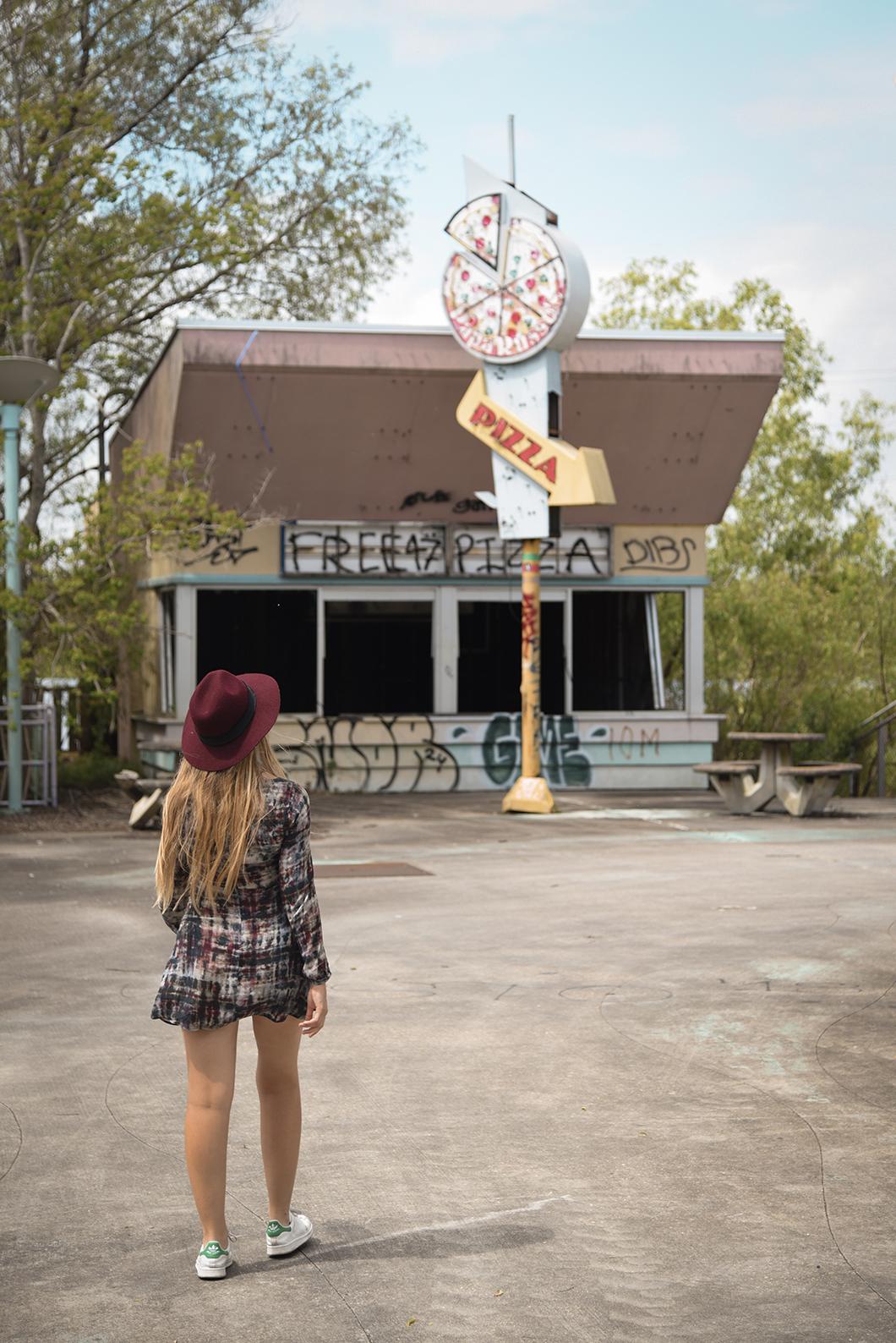 Visite deSix Flags, le parc abandonné de la Nouvelle Orléans