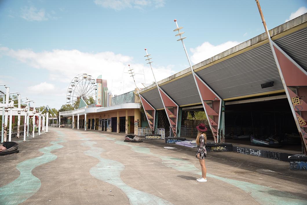 Visite d'endroits abandonné, Six Flags New Orleans