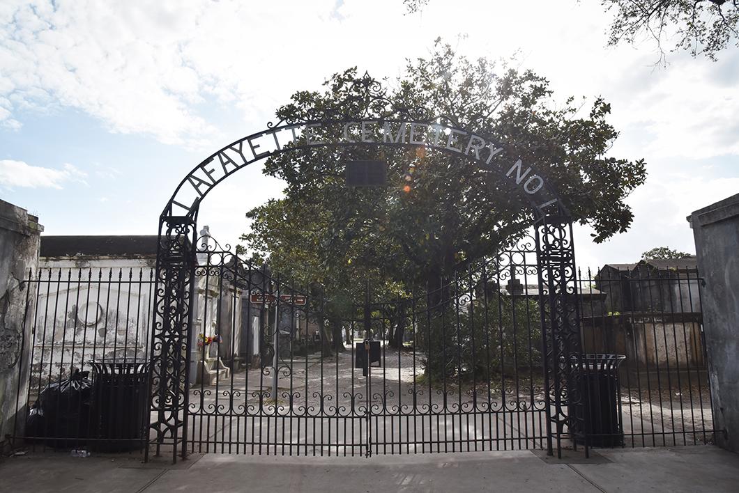 Cimetière Lafayette à la Nouvelle Orléans