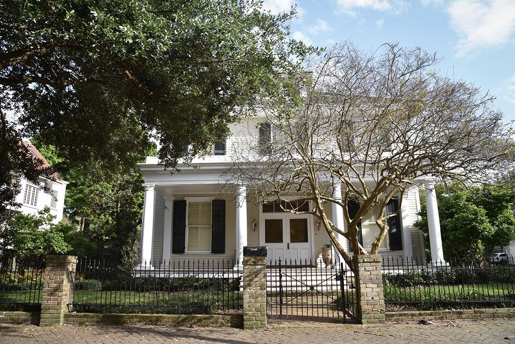 Les maisons de Garden District à la Nouvelle Orléans