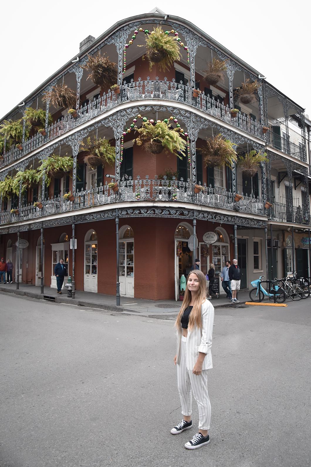 Vieux Carré, spot à la Nouvelle Orléans
