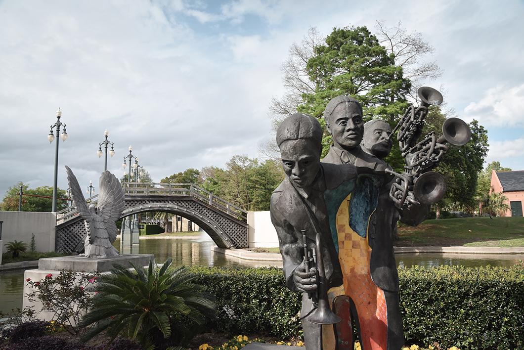 Park Louis Armstrong, parc à la Nouvelle Orléans
