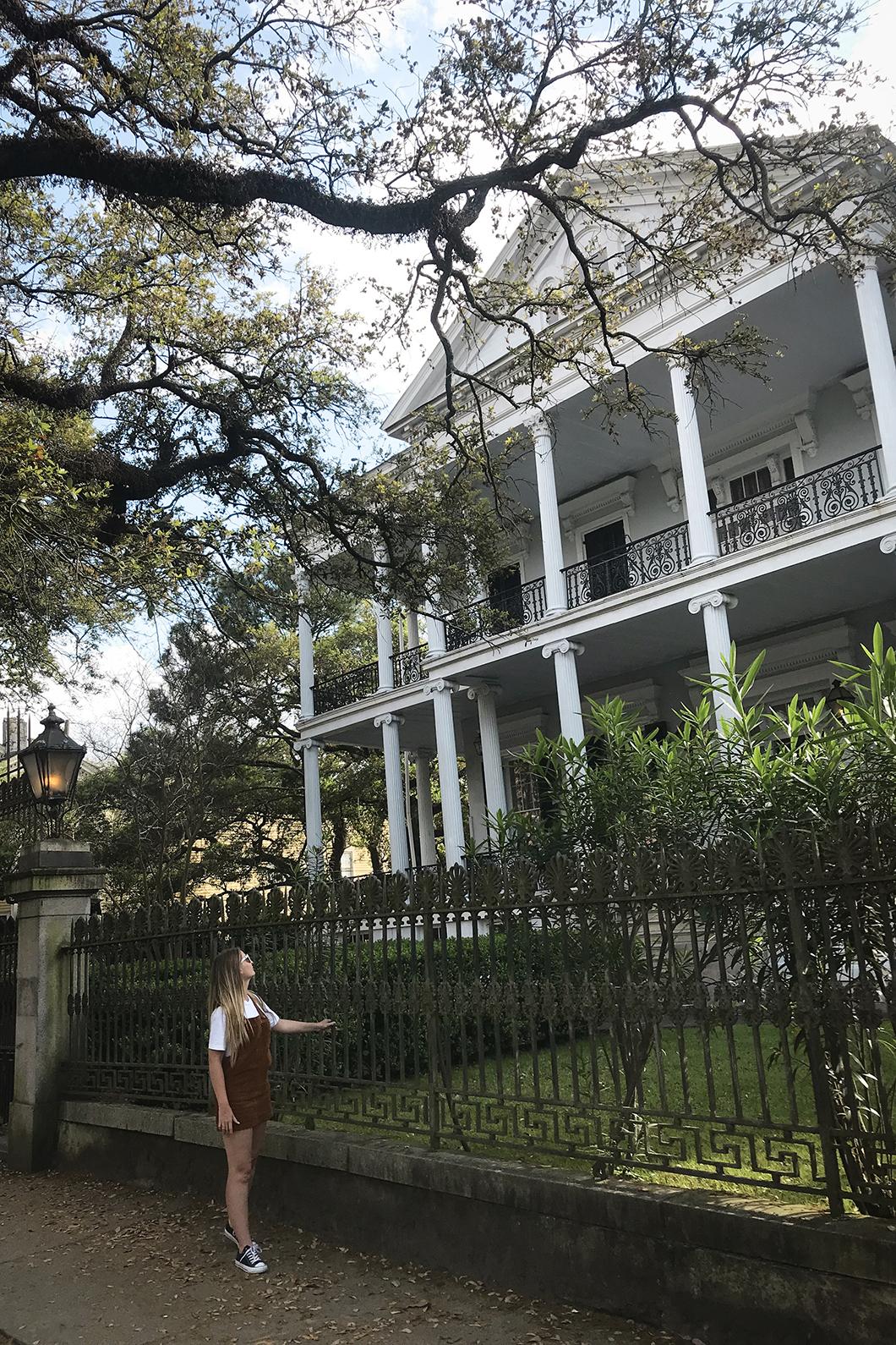 Maison de American Horror Story à la Nouvelle Orléans