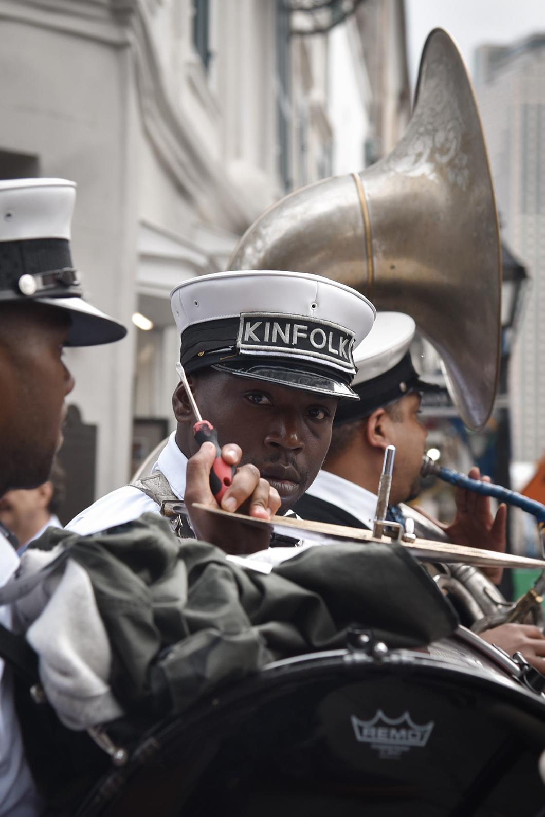 Carnaval dans les rues de la Nouvelle Orléans