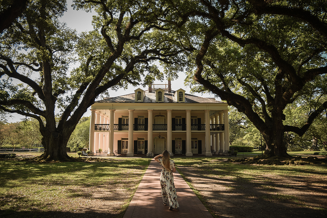 Visiter la Louisiane, Oak Alley Plantation