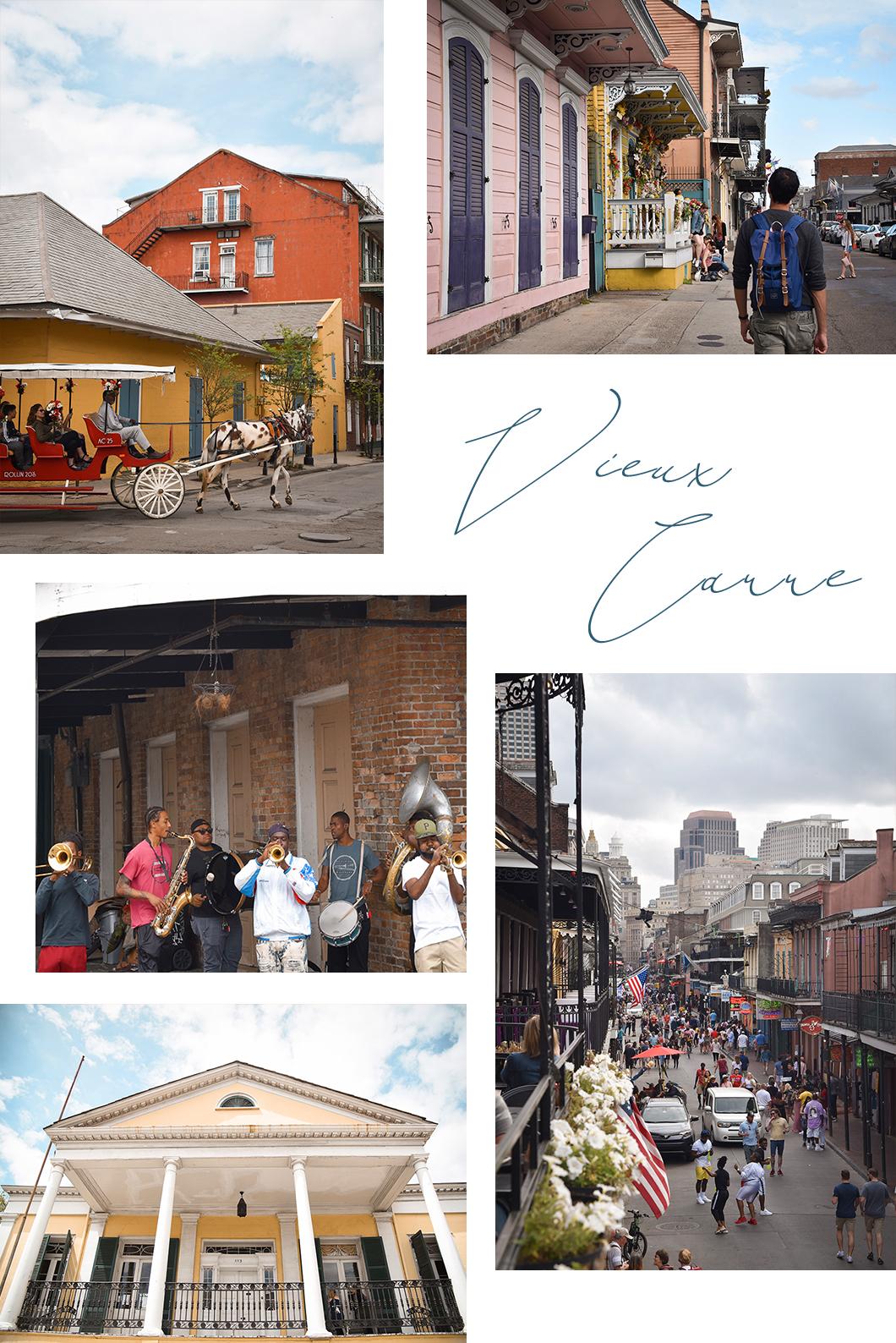 Vieux Carré, le quartier français de la Nouvelle Orléans