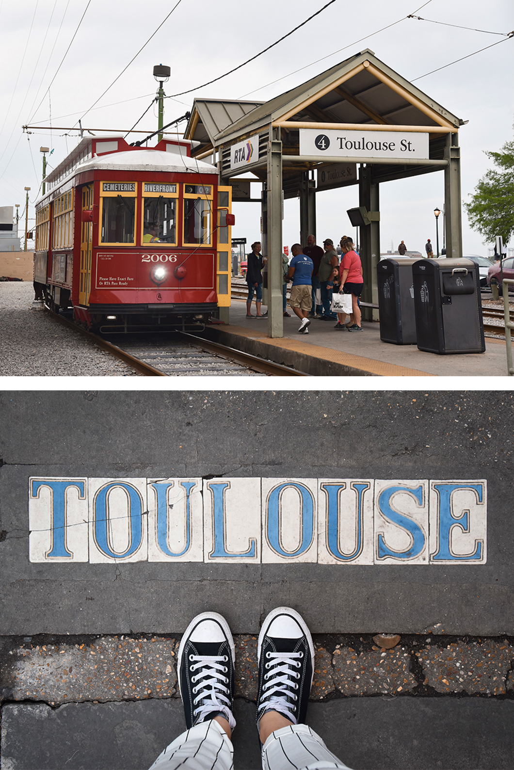 Toulouse street à la Nouvelle Orléans