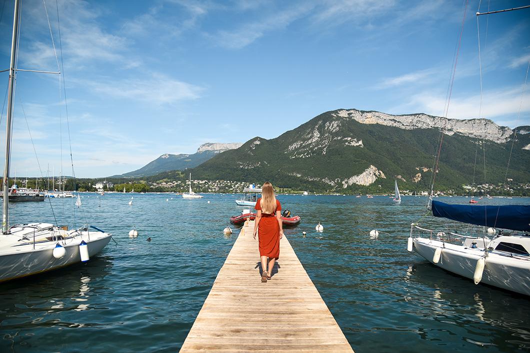 Les beaux points de vue du Lac d'Annecy