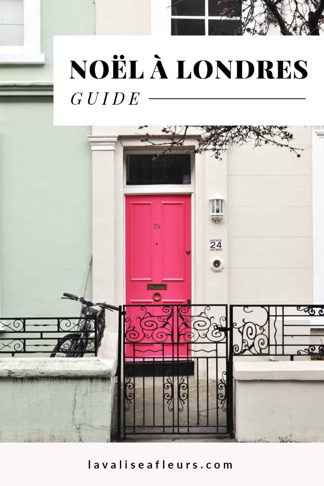 Guide d'un Noël à Londres