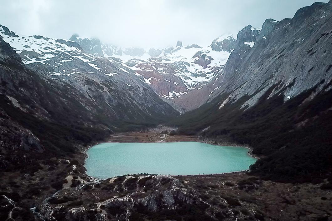 Laguna Esmeralda à Ushuaia