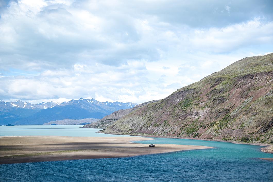 Randonnée à l'Estancia Cristina en Patagonie