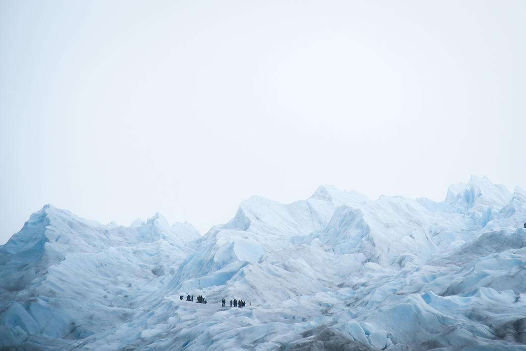 Balade sur le Perito Moreno en Argentine