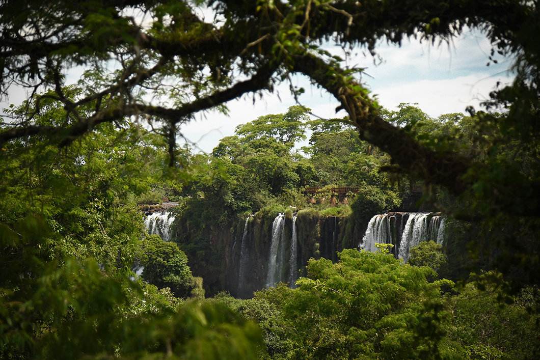 Beaux points de vue à Iguazu