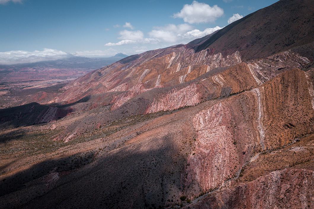 Les montagnes colorées du Parque national Los Cardones