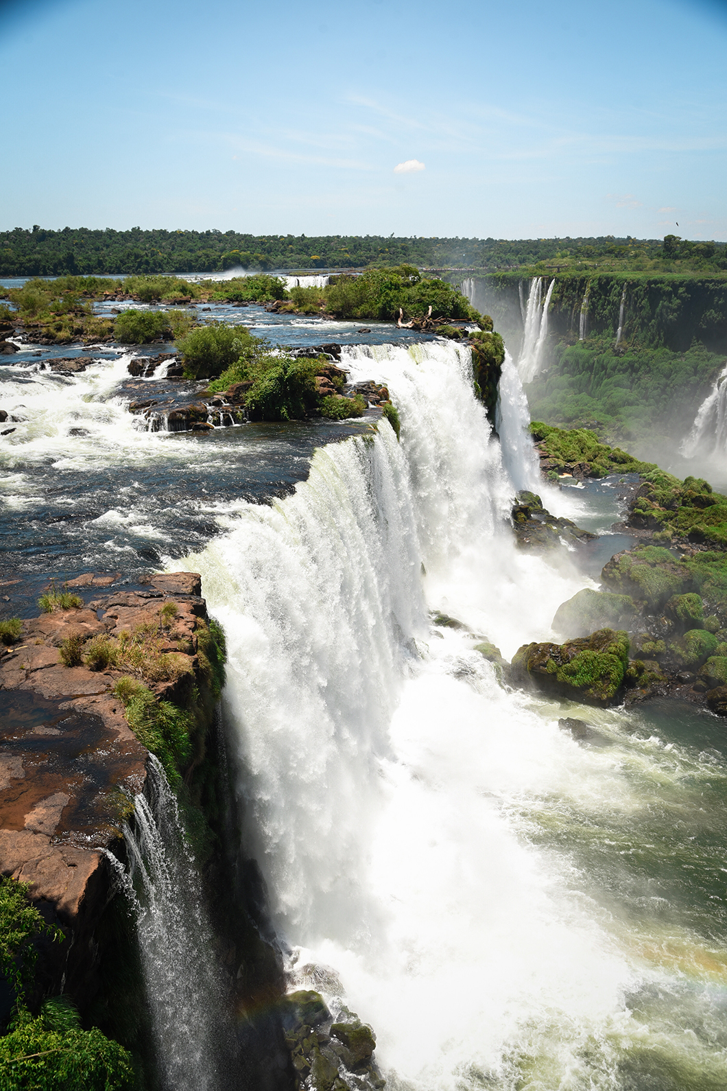 Découvrir les chutes d'Iguazu