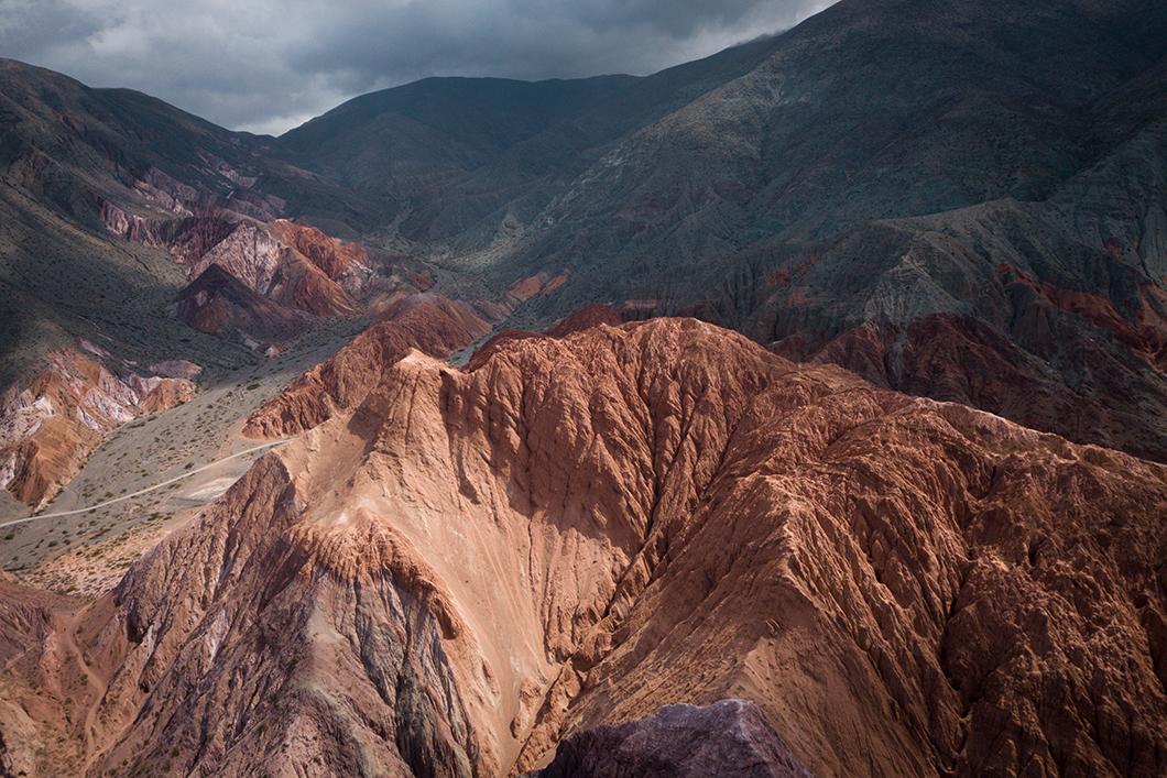 La colline aux 7 couleurs près de Salta