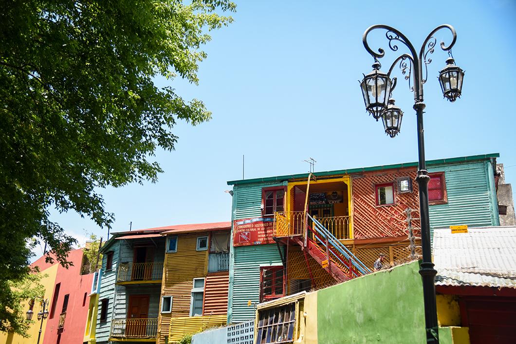 Découvrir El Caminito à la Boca à Buenos Aires