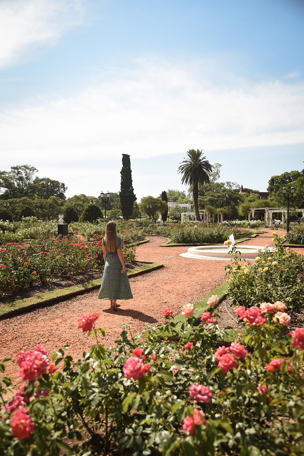 El Rosedal à Buenos AIres