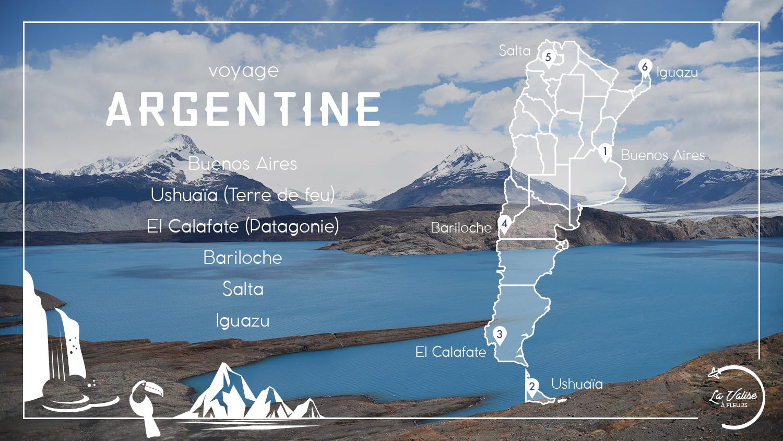 Itinéraire de 3 semaine en Argentine