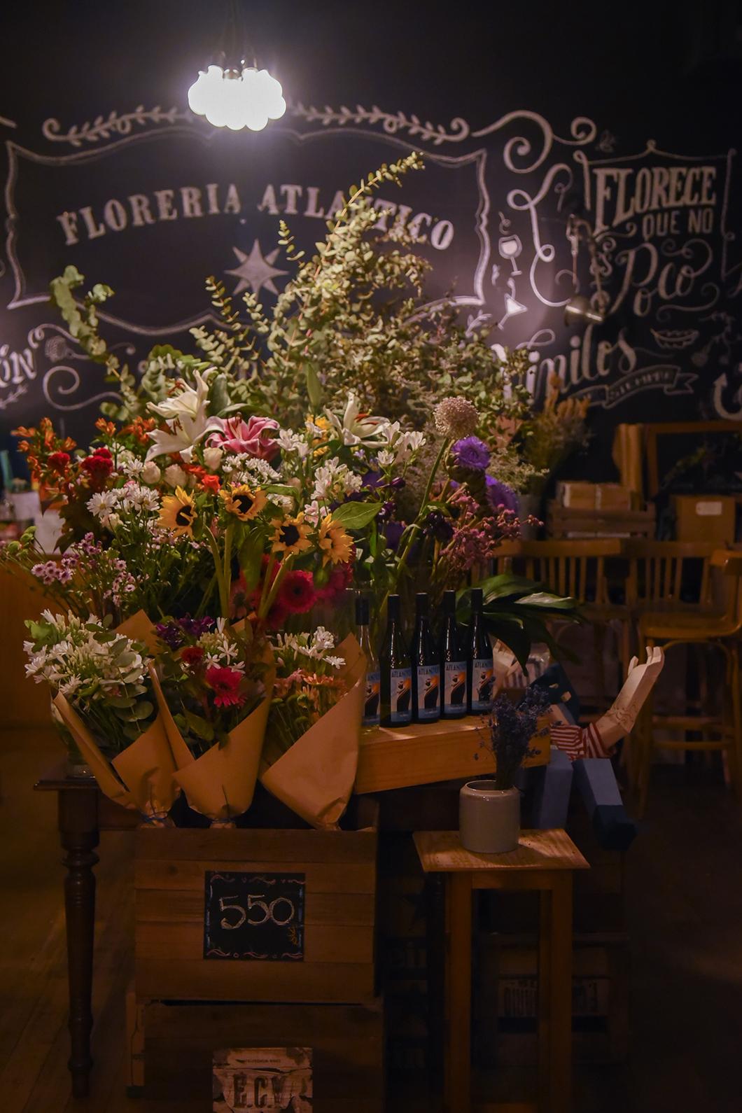 Florería Atlántico, un bar caché sous un fleuriste