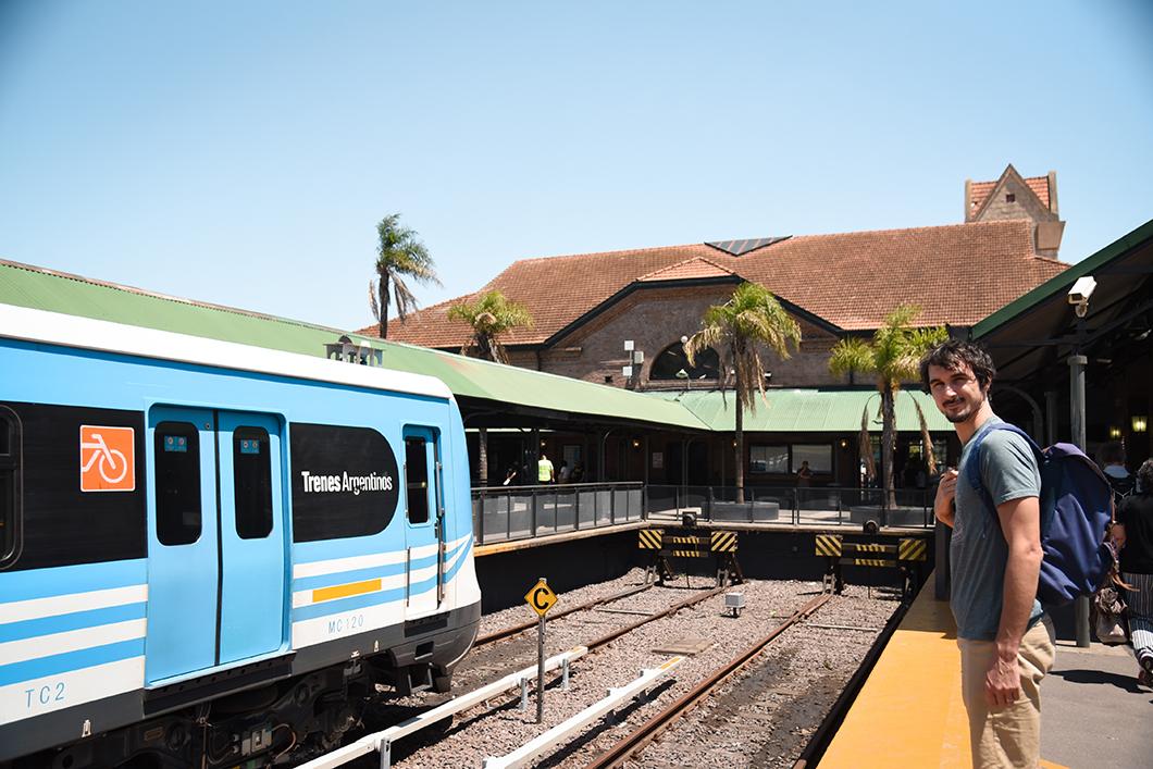 Prendre le train pour Tigre à 1h de Buenos Aires