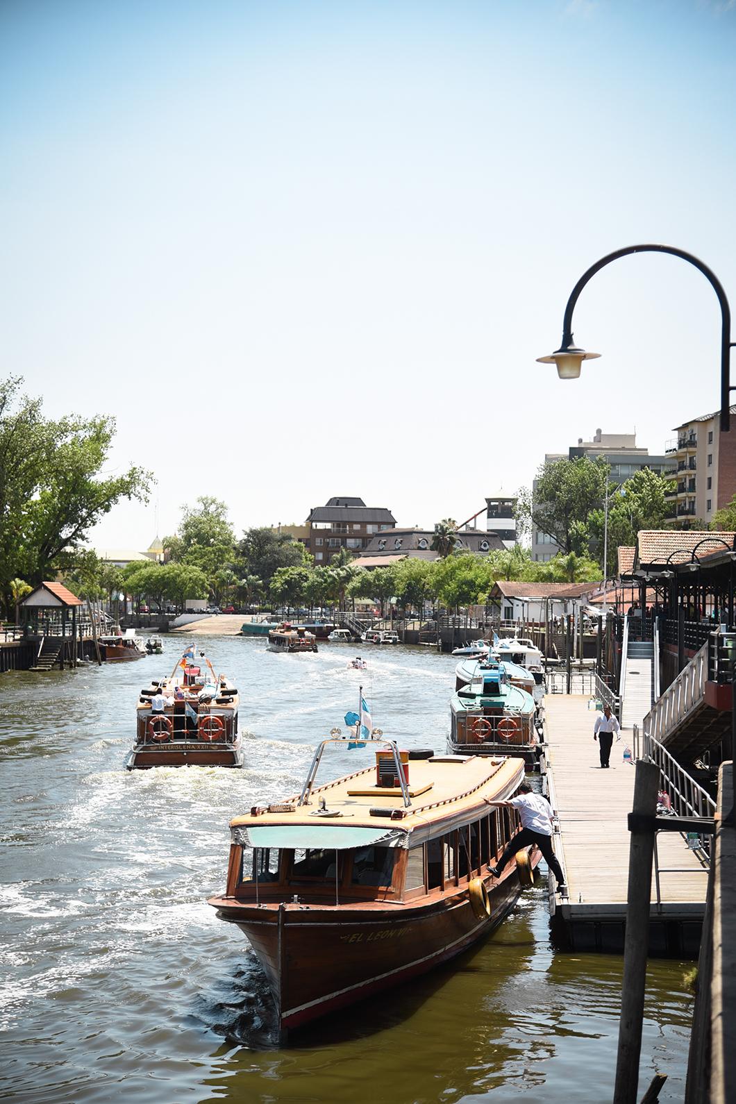 Tigre, la ville sur l'eau