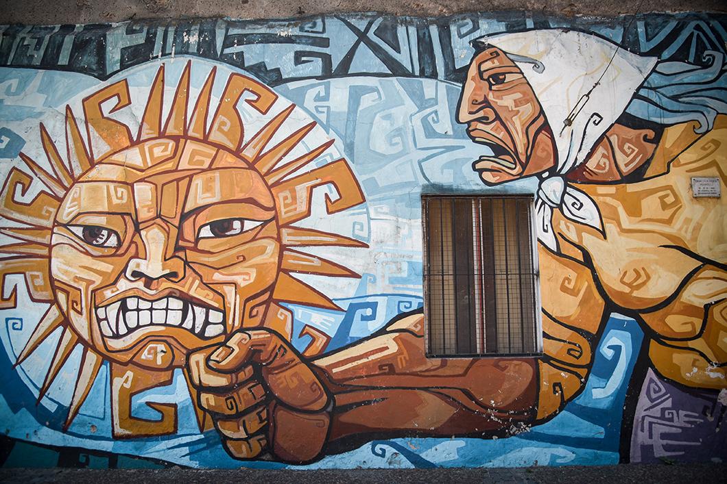 Street art à la Boca