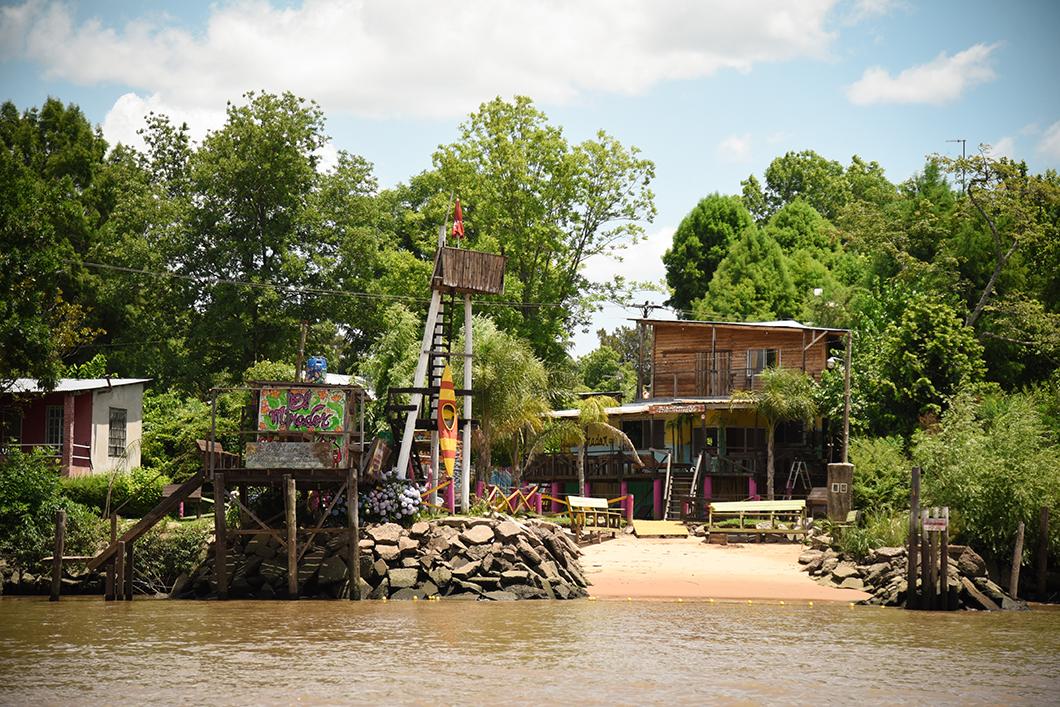 Faire un tour de bateau à Tigre