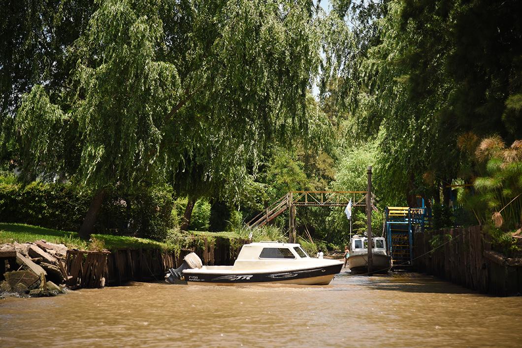 Visite en bateau de Tigre