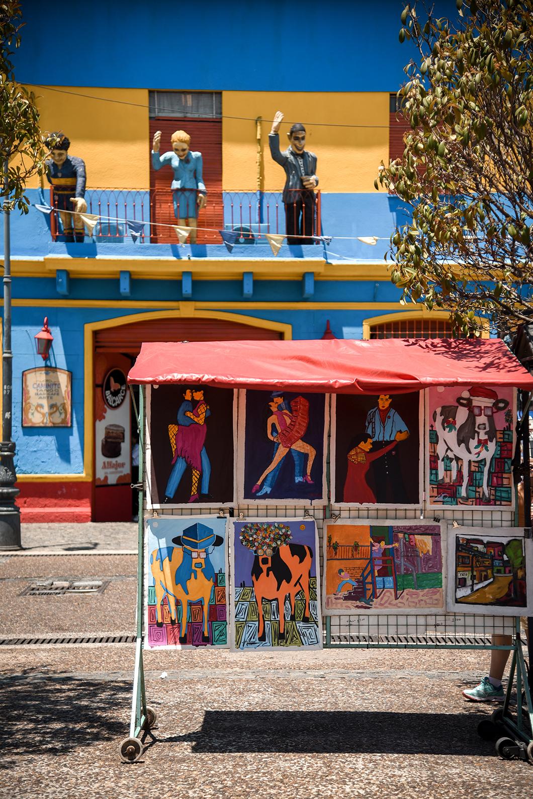 Visiter le quartier de la Boca à Buenos Aires