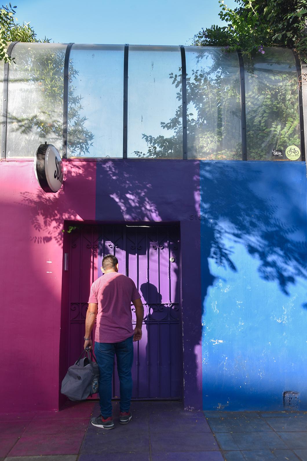 Les belles façades de Palermo à Buenos Aires