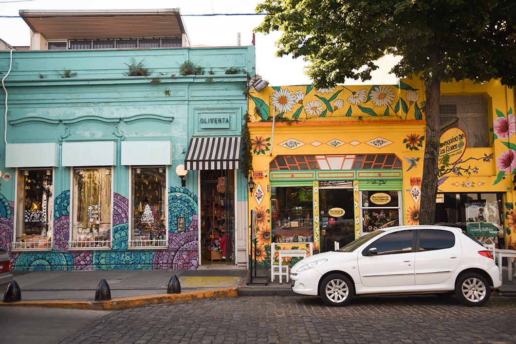 Les couleurs de Palermo à Buenos AIres