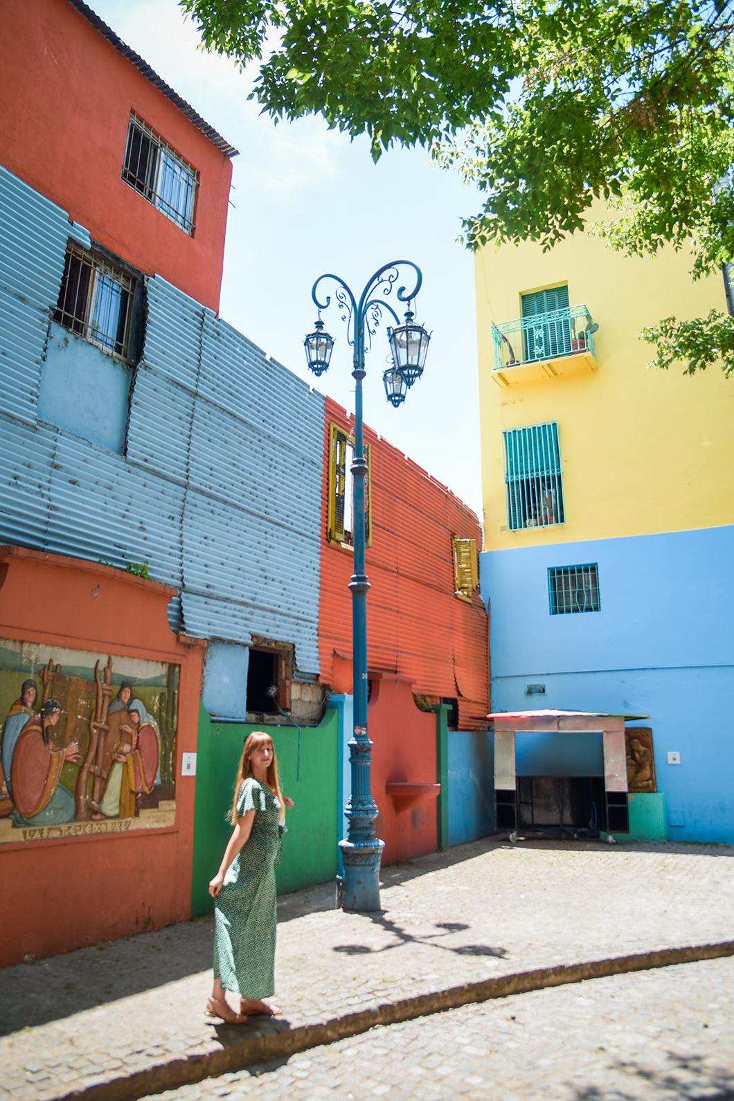 Quartier coloré El Caminito à la Boca