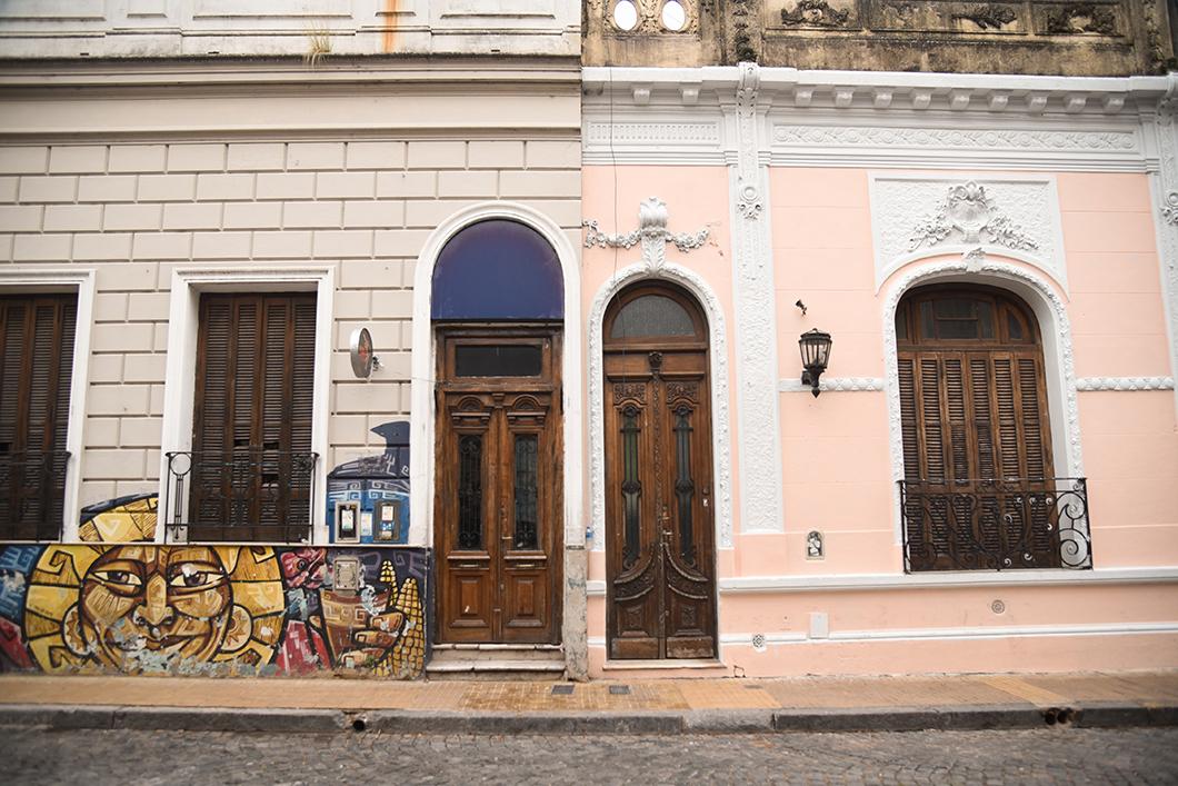 Les jolies rues de San Telmo à Buenos Aires