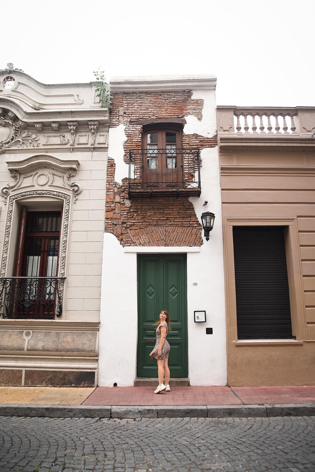 La Casa Minima à San Telmo, plus petite maison de Buenos Aires
