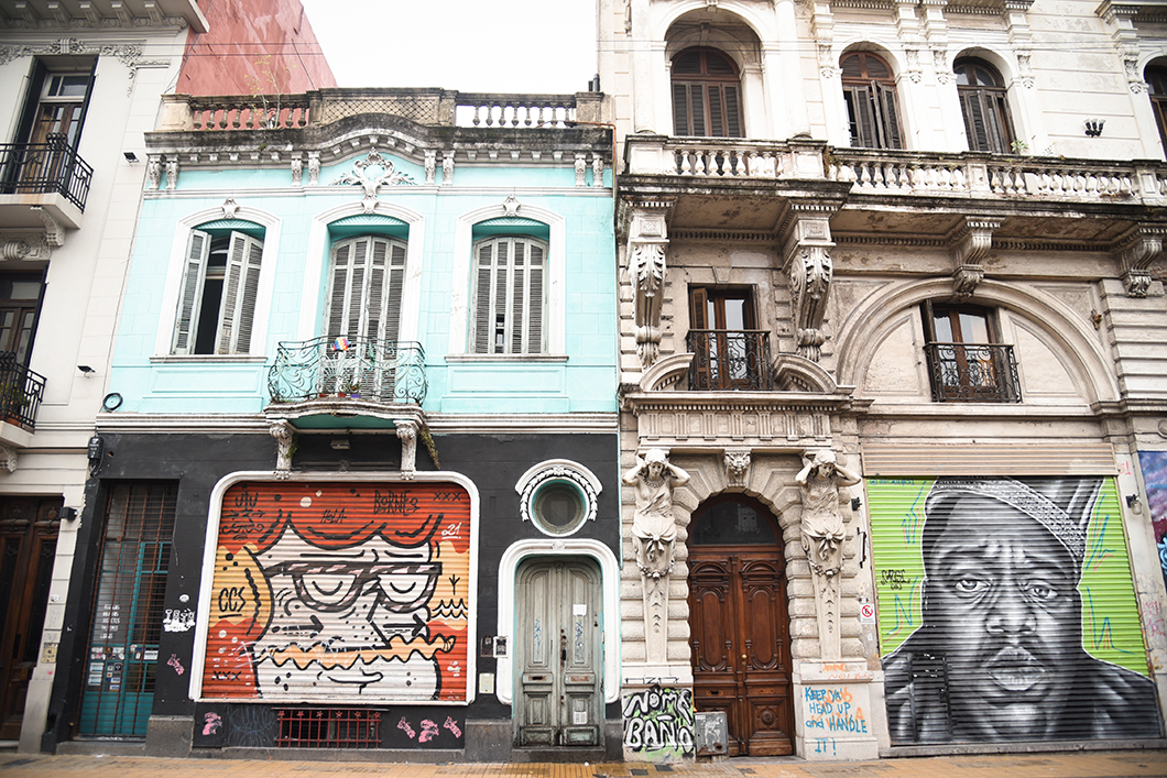 Les belles façades de San Telmo