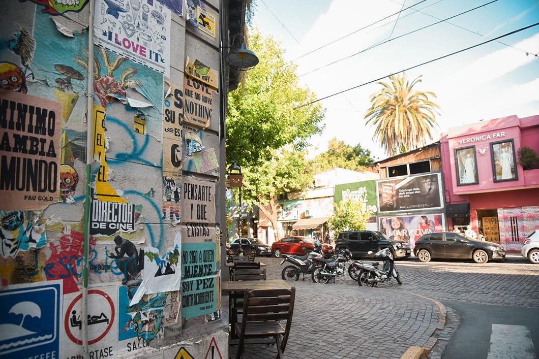 La quartier tendance de Palermo à Buenos Aires