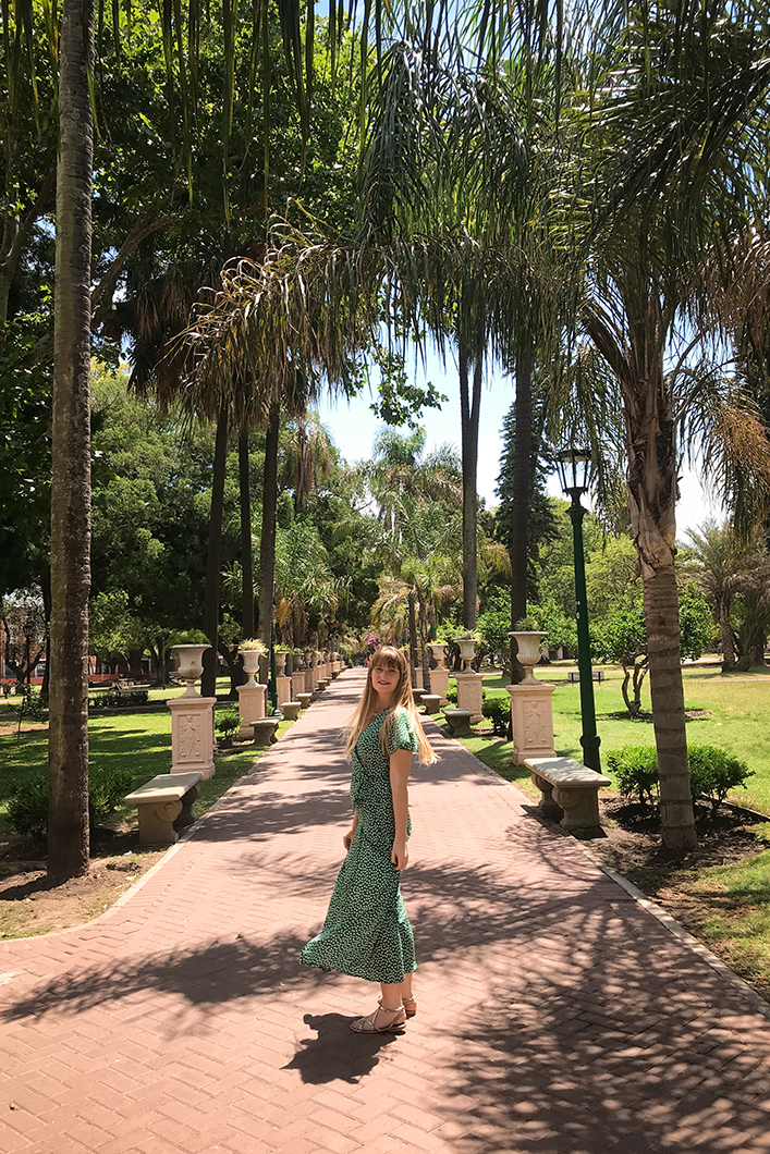 Quartier bohème de San Telmo et son Parc Lezama