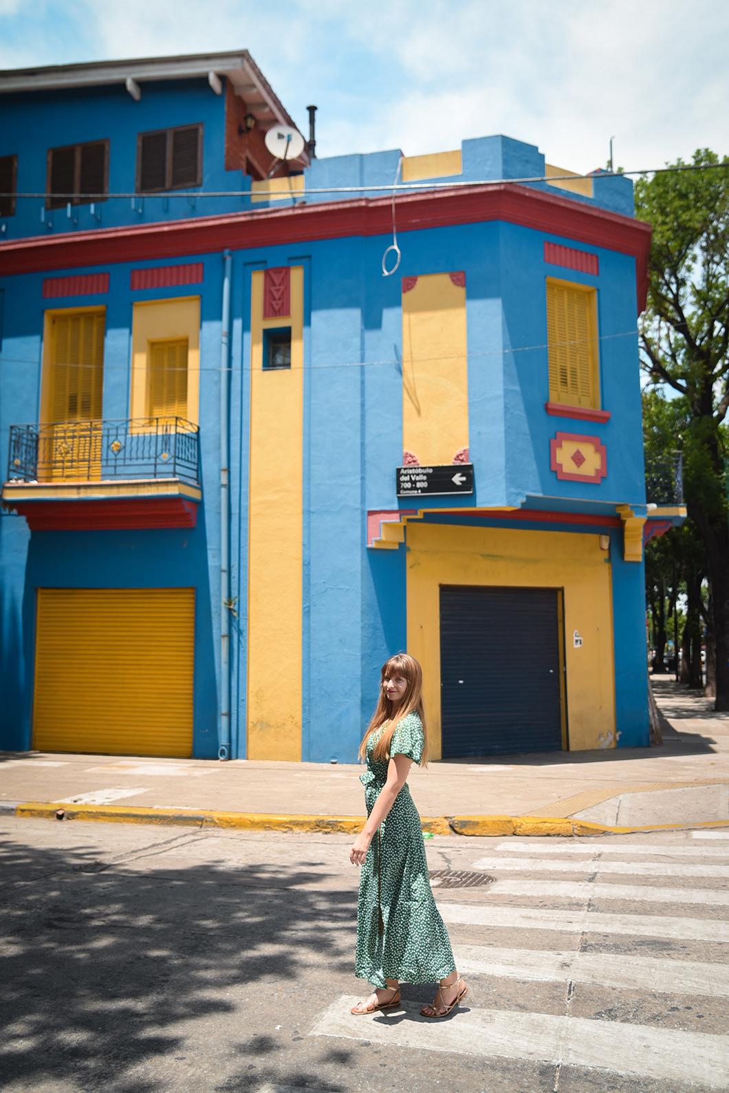 La Boca et ses murs colorés