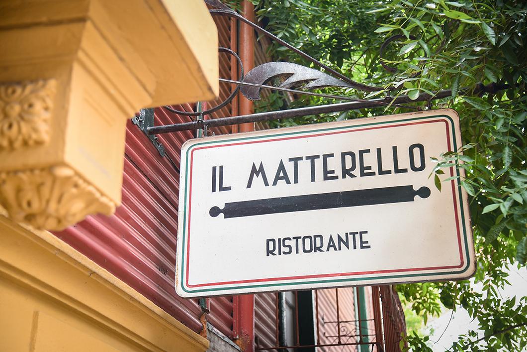 Matterello Ristorante, meilleur restaurant italien à Buenos Aires