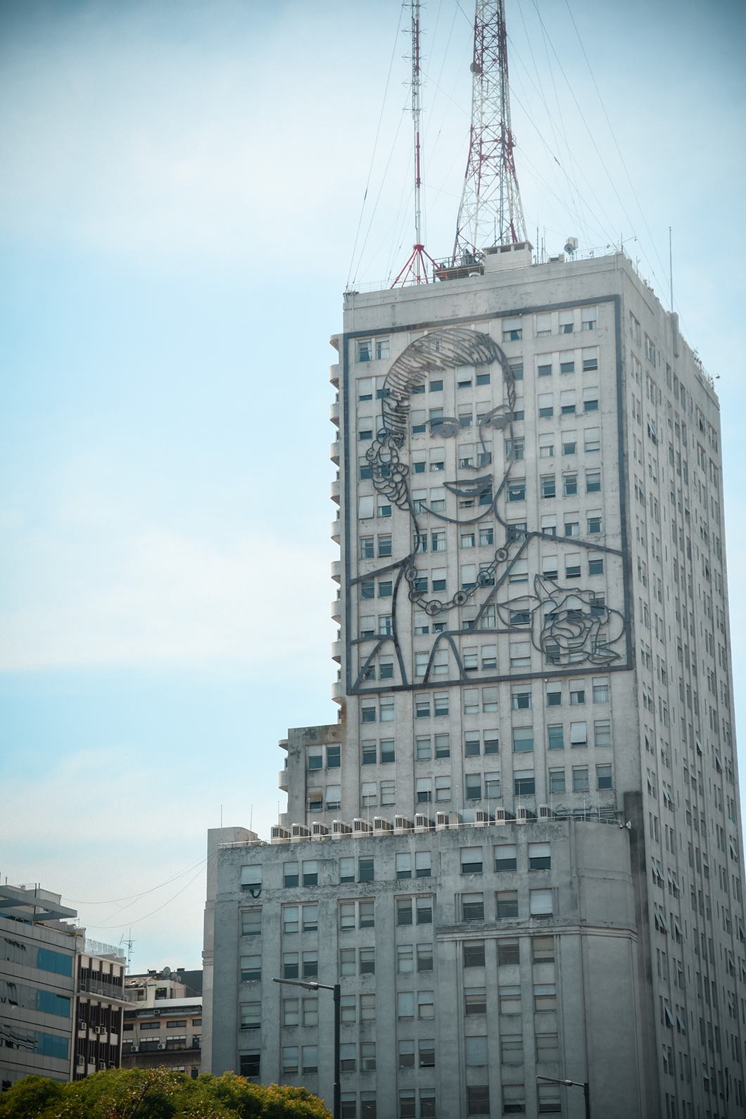 Building Eva Peron à Buenos Aires